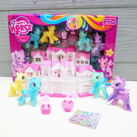 Mainan Anak My Happy Horse Fashion House Set | Rumah/Villa Little Pony