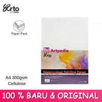 Arto Watercolour Paper A4 - 300gsm - Cellulose
