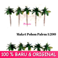 MAKET Pohon Palem / Diorama Palem / Miniatur Pohon Palem 1 : 200