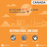 Sim Card Kanada Unlimited FUP 3 GB for 30 Days  Simcard Canada