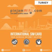 Sim Card Turkey Unlimited FUP 3 GB for 30 Days  Simcard Turki