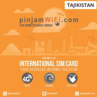 Sim Card Tajikistan Unlimited FUP 3 GB for 30 Days  Simcard Tajikistan