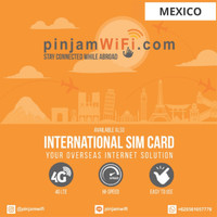 Sim Card Mexico Unlimited FUP 3 GB for 30 Days  Simcard Meksiko