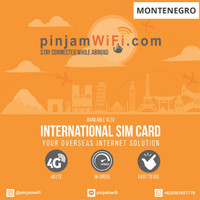 Sim Card Montenegro Unlimited FUP 3 GB for 30 Days  Simcard Montenegro