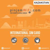 Sim Card Kazakhstan Unlimited FUP 3 GB for 30 Days  Simcard Kazakhstan