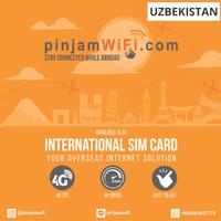 Sim Card Uzbekistan Unlimited FUP 3 GB for 30 Days  Simcard Uzbekistan