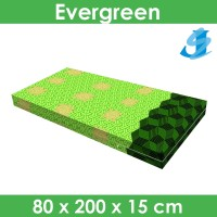Rivest Sarung Kasur 80 x 200 x 15 - Evergreen