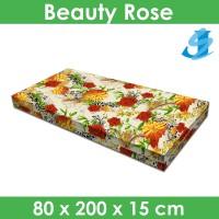 Rivest Sarung Kasur 80 x 200 x 15 - Beauty Rose
