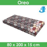 Rivest Sarung Kasur 80 x 200 x 15 - Oreo