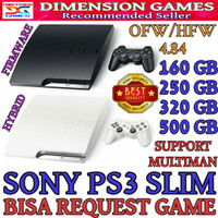 PS3 PS 3 SONY PLAYSTATION 3 SLIM 500 GB OFW FREE REQUEST GAME
