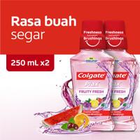 Colgate Plax Fruity Fresh Mouthwash/Obat Kumur 250ml - Twin Pack