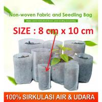 Planter Bag Polibag Polybag Bibit 8x10cm bahan Kain Biodegradeble