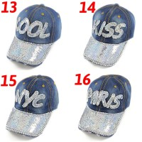Topi bling blink shiny hat hats type 13-20