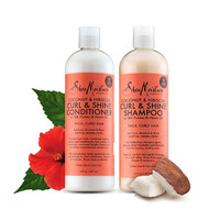Shea Moisture Coconut and Hibiscus Curl and Shine Combination Set