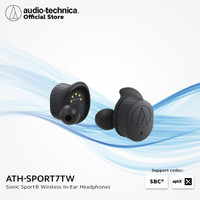 Audio Technica ATH-SPORT7TW SonicSport® True Wireless Headphones