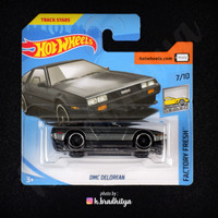 Hot Wheels DMC Delorean - Short Card (SC)