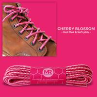 Tali Sepatu Bulat Corak 150cm 5mm untuk Sepatu Boot (Non-Waxed)