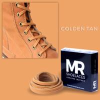 Tali Kulit 60cm Variasi Warna untuk Sepatu Boots (Leather Shoelaces)