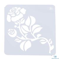 Plastic Stencil - Stensil Dekorasi Motif_GTS144