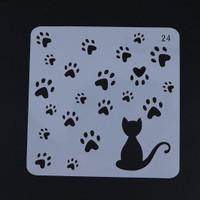 Plastic Stencil - Stensil Dekorasi Motif_GTS143