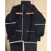Jas Hujan RED BIRD ST801PG Suit Pongge Navy blue full Puring