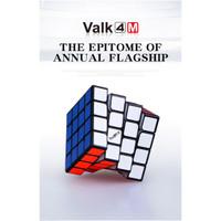 Rubik 4x4 Speedcube Qiyi Valk4 Strong Magnetic Blackbase - Valk 4