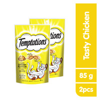 [isi 2] TEMPTATIONS™ Snack Kucing Rasa Tasty Chicken 85g