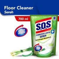 SOS Sereh Refill Pembersih Lantai [700 ML]