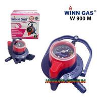 Kepala Gas / Regulator Winn Gas W900M Regulator Pengunci Ganda Meter