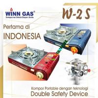 Kompor Gas Portable Winn Gas W2S – Kompor Gas Portable Double Safety