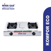 Kompor gas 2 Tungku Winn Gas W288 – Kompor Gas 2 Tungku Brand : Winn
