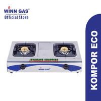Kompor Gas 2 Tungku Winn Gas - Kompor Gas 2 Tungku Stainless W438