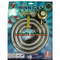 Selang Gas / Regulator Winn Gas PSFRW68M – Selang Paket Spiral Meter