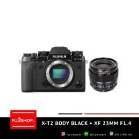 Fujifilm X-T2 Body Black + XF 23mm F1.4