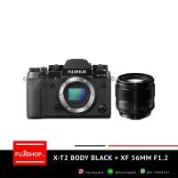 Fujifilm X-T2 Body Black + XF 56mm F1.2