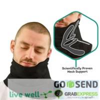 Smart Pillow - Bantal Mudik Bantal Leher Selimut Travel Scarf trtl