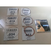 Senar Gitar Folk Guitar Strings Set 6pcs - Yamaha