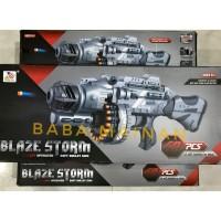 MAINAN BLAZE STORM MACHINE GUN 7076 ( REPLIKA NERF ) ORIGINAL NEW