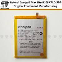 Baterai Coolpad Max Lite R108 CPLD380 CPLD-380 Original OEM Batre Ori