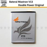 Baterai Maxtron V13 Double Power Original Batre Batrai Battery Ori
