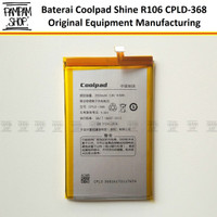 Baterai Coolpad Shine R106 CPLD368 CPLD-368 Original OEM Batre Ori