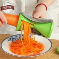 FellahStore ~ Piramid Spiral Slicer Twister Pisau salad Sayur & Buah