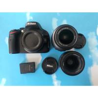 Nikon D5100 tilt LCD plus kit 18-55mm