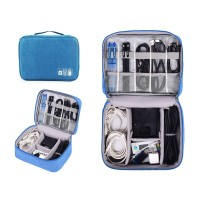 Waterproof Travel Cable Bag Data Line Digital USB Gadget Organizer