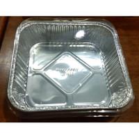Alumunium Foil Tray OX 1400 dengan tutup