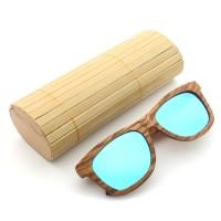 top Zebra Wood UV400 Outdoor Polarized Sunglasses Handmade