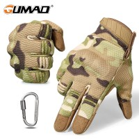(PO) Promo Touch Screen Multicam Camouflage Tactical Gloves Army