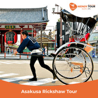 Tur Special Asakusa Rickshaw - Couple ( 2 Orang)