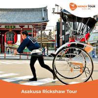 Tur Special Asakusa Rickshaw - Individu