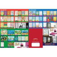 Poster Belajar Paket 10 Pcs Harga Diskon Mainan Anak Edukatif Edukasi